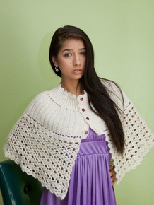 Latina love Megan Salinas in a violet dress returns home and lies down on sofa