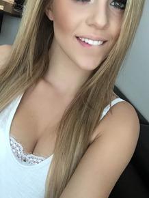 Amateur model Kali Rose takes selfies in various lingerie items