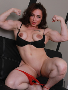 Alura Jenson and Brandi Mae are so horny that they start straponing