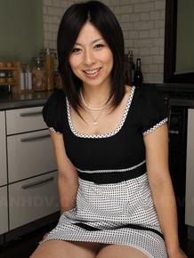 Handcuffed Japanese wife Himeki Kaede gets her sexy tits worshipped
