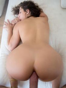 Hot MILF pornstar Abella Danger enjoys deep anal cowgirl & gives POV blowjob