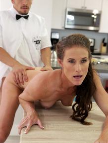 Pornstar Sofie Marie reenacts popular 70's TV show in a XXX parody