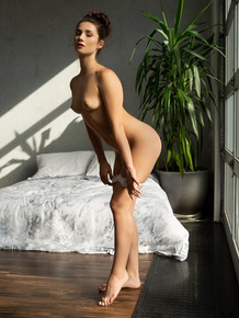 Beautiful Playboy muse Alexandra Belle poses in her sexy lingerie