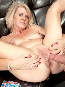 Kay Delynn is into ball licking action before she gets fingered and fucked