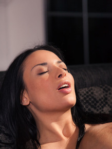 Young lesbians Anissa Kate & Ena Sweet bring each other to an orgasm