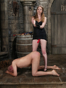 Princess Kali gets to dominate her man with a strapon in various positions