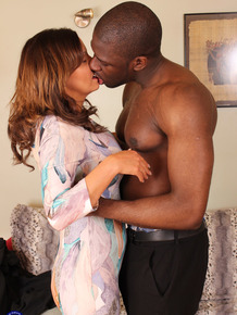 Busty British housewife fuck her black lover on the side while hubby works