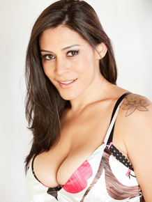 Latina cougar Raylene seduces a handsome stud with her monster curves