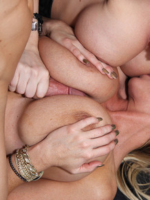 Female sex slave Alena Croft gets used by the Madison's after trying to escape