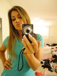 Girlfriend naughty picture slide show by insolent blonde Bella Beyle