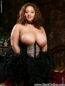 Ebony fatty babe with huge boobs masturbating her hairy cunt