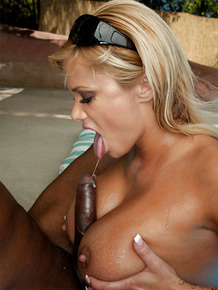Shyla Stylez gets her gorgeous ass pounded by a big black cock