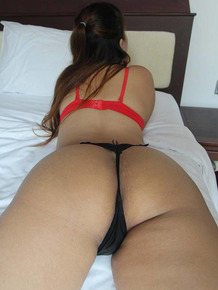 Cute Thai girl has POV sex on a motel room bed with a foreigner