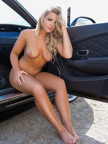 The hottest babes with astonishing natural bodies washing cars nude